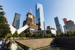 NEW YORK - AUGUSTI 24, 2015 Arkivfoto
