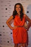 NEW YORK - AUGUSTUS 08: Algemene atmosfeer bij rood tapijt vóór Top Model Latina 2014 Royalty-vrije Stock Foto's
