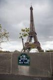 New York Avenue in Paris Stock Images