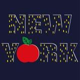 New York Big Apple Stock Images