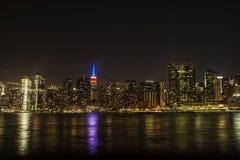 New York bij gezicht stock afbeelding