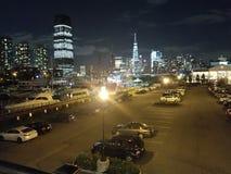 New York bij nite Royalty-vrije Stock Foto's