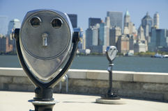 New york binoculars Stock Photography