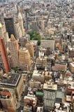 New York bird view Stock Photo