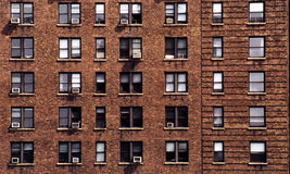 New York block of flats stock photo