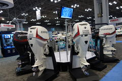 The 2014 New York Boat Show 28 Stock Images