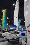 The 2014 New York Boat Show 30 Stock Photography