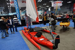 The 2014 New York Boat Show 35 Royalty Free Stock Photo