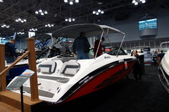The 2014 New York Boat Show 38 Stock Photography