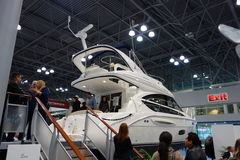 The 2014 New York Boat Show 70 Stock Image