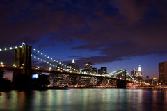 New york bridge Royalty Free Stock Image