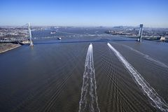 New York bridge. Royalty Free Stock Photo