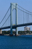 New york bridge Verrazano Royalty Free Stock Image
