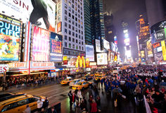 New York , Broadway royalty free stock images