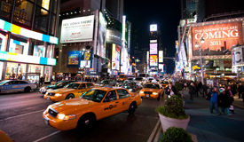 New York , Broadway Stock Photo
