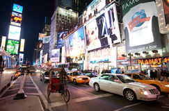 New York , Broadway Royalty Free Stock Photos