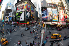 New York, Broadway Fotografia Stock