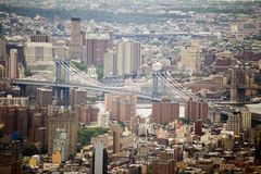 New York & Brooklyn Bridge Stock Photography