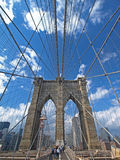 New York and Brooklyn Bridge Royalty Free Stock Photos