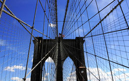 New York Brooklyn Bridge Stock Images