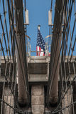 New York Brooklyn Bridge 4 Stock Photo