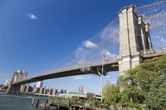 New York Brooklyn Bridge Stock Photos