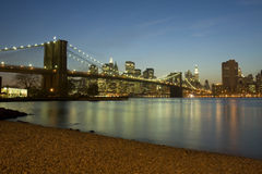 New York Brooklyn Bridge Royalty Free Stock Photo