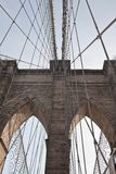 New York - Brooklyn Bridge Stock Photo