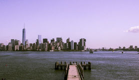 New York Brooklyn Bridge royalty free stock images