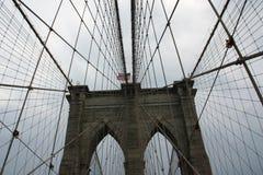New York Brooklyn bridge Stock Images
