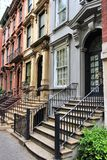 New York brownstone Royalty Free Stock Photography