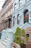 New York Brownstones Royalty Free Stock Photography