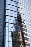 New York Building Reflection Stock Photos