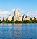 New York buildings from Central Park Stock Images