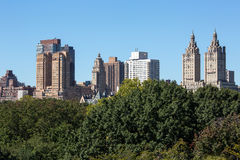 New York buildings Stock Photography