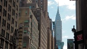 New York Buildings stock video footage