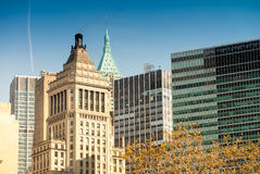 New York buildings. Classic city skyline Royalty Free Stock Images