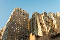 New York buildings. Classic city skyline Stock Photos