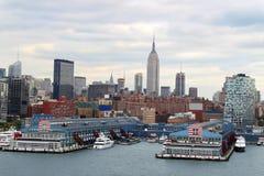 New York  buildings skyline Stock Images