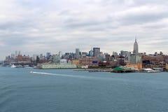 New York  buildings skyline Royalty Free Stock Photos