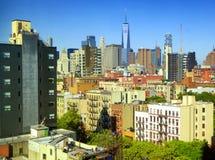 New York buildings Stock Image