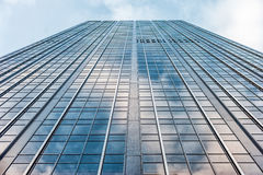 Free New York Business Tower And Window Toward To Sky Stock Photo - 88272800