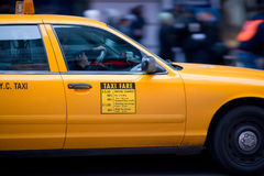 New York Cab Stock Images