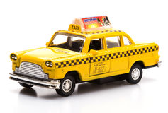 New York Cab Toy Royalty Free Stock Photo