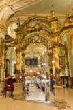 New York Cafe - Budapest, Hungary Royalty Free Stock Image