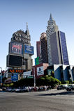 New York casino and hotel. In Las Vegas, Nevada Stock Image