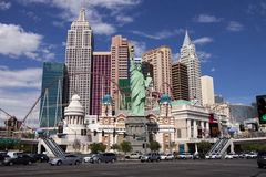 New York Casino and Hotel in Las Vegas, Nevada Stock Images