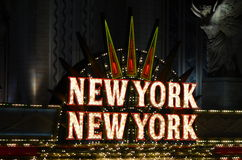 New York Casino, Las Vegas Stock Photos