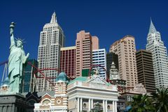 New York Casino - Las Vegas Stock Photo