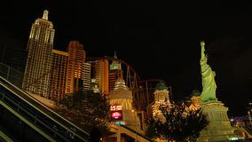 New York Casino in Las Vegas Stock Photography